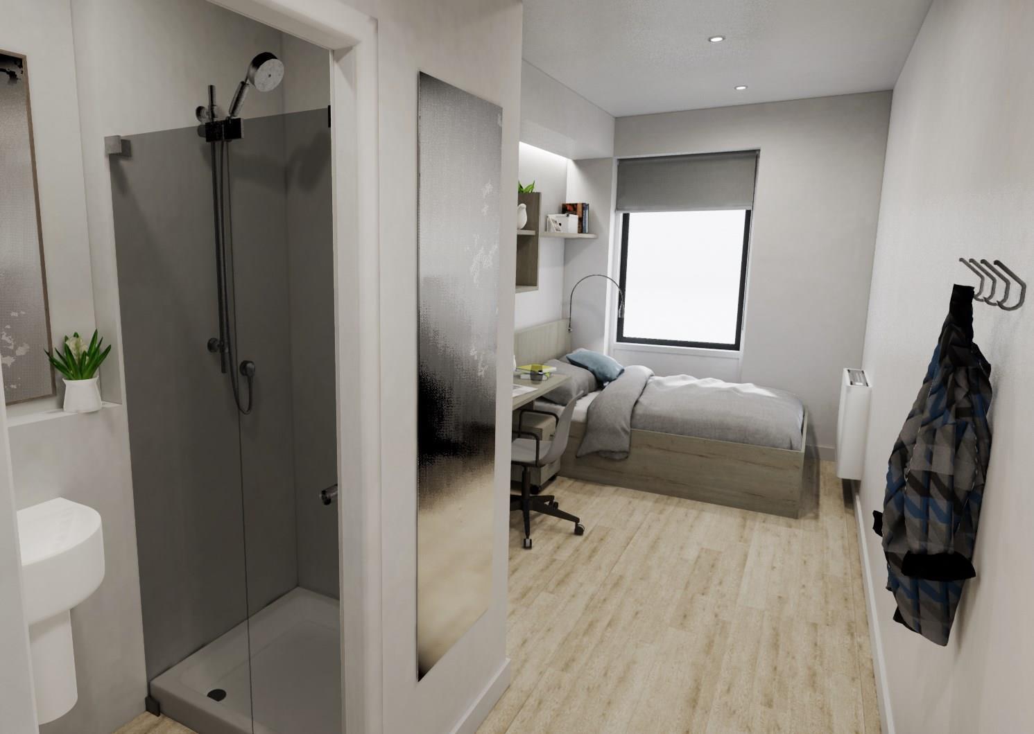 En-Suite Rooms Caton Road Court, 5-15 Bulk Road, Lancaster, LA1 1DN